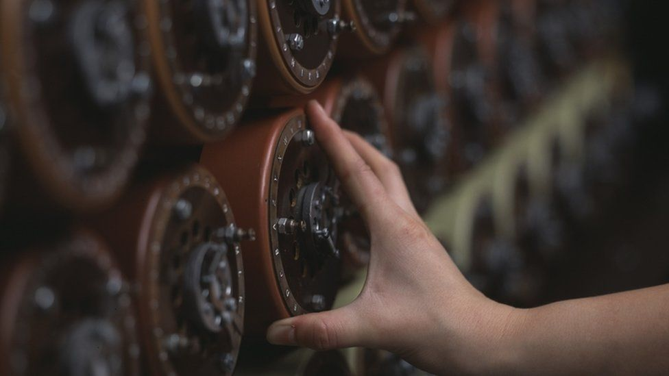 Enigma code cracking
