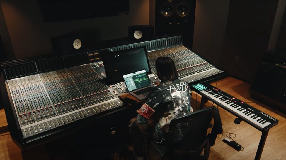 Alesso in his studio