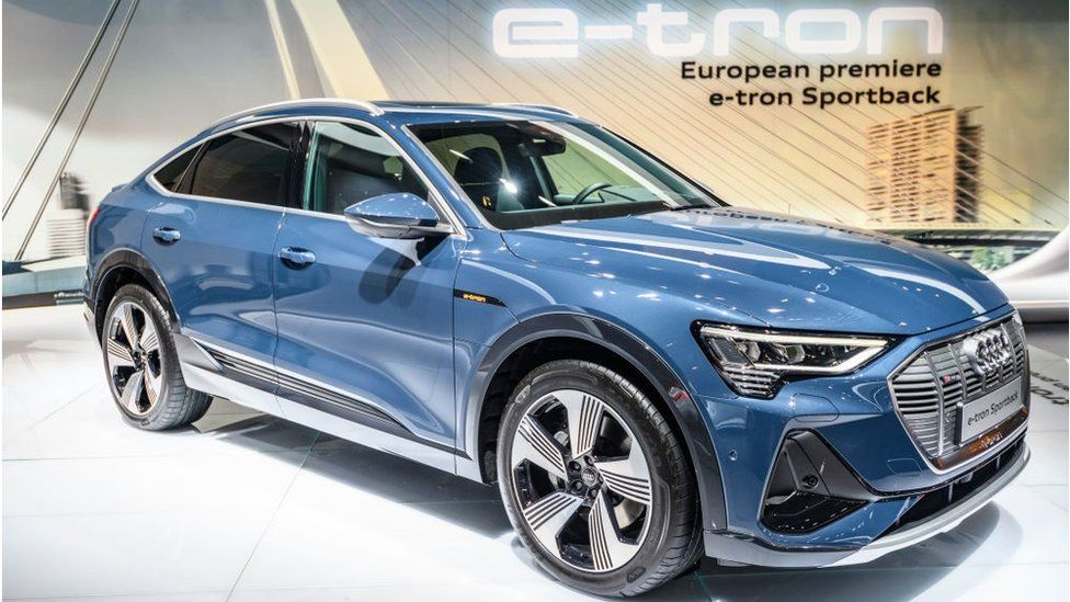 Audi e-tron Sportback full electric luxury crossover SUV