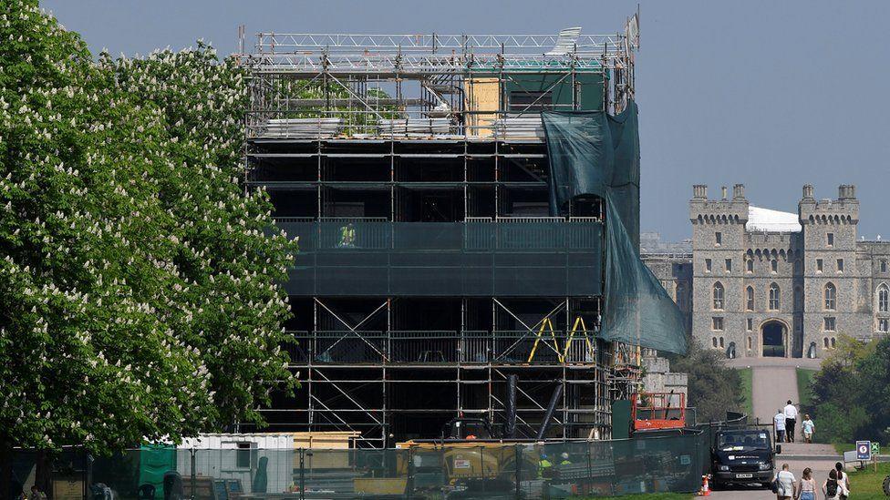 Media platform being built in Windsor for royal wedding coverage