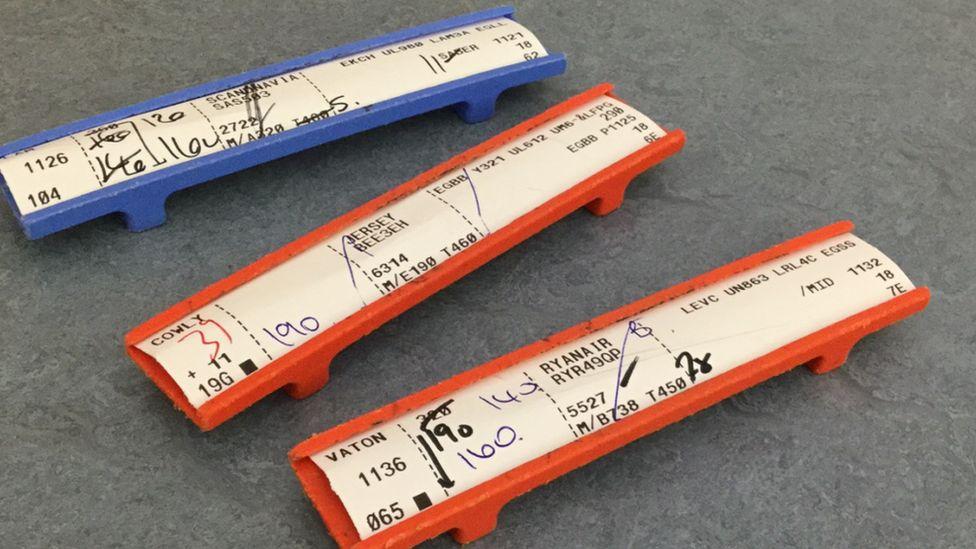 Paper flight strips