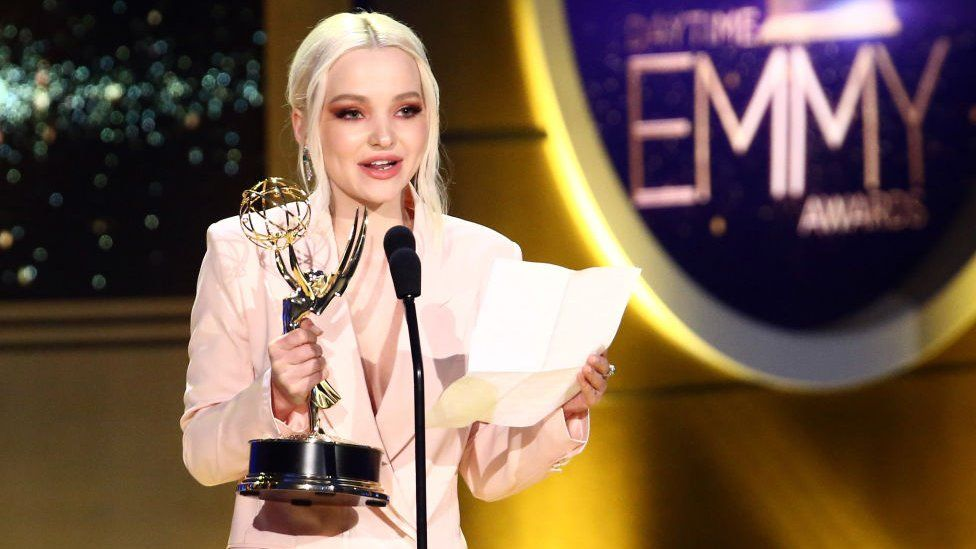 Dove Cameron at the Emmys