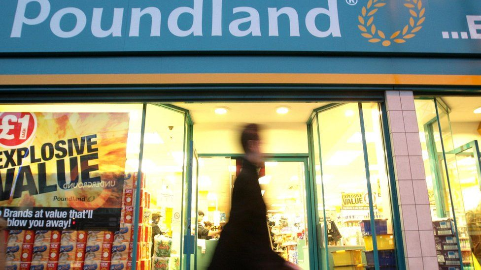 Poundland shop