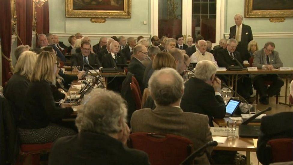 King's Lynn council meeting