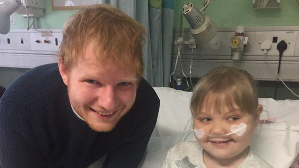 Ed Sheeran and Melody Driscoll