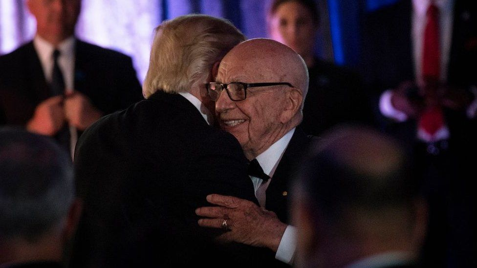 Mr Trump met with Mr Murdoch in New York in May 2017