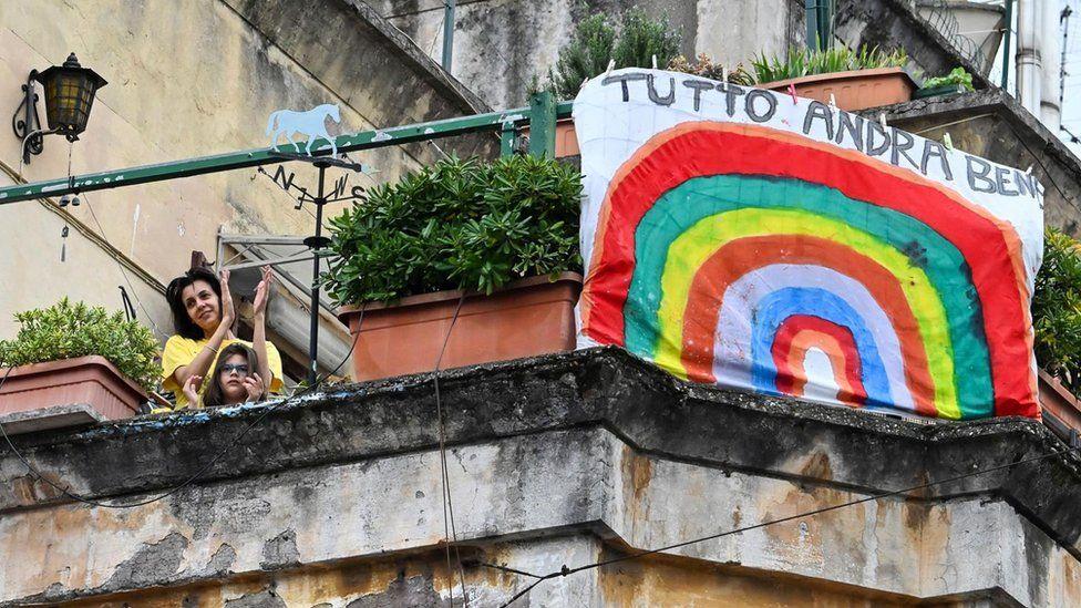 Італійці вітають одне одного