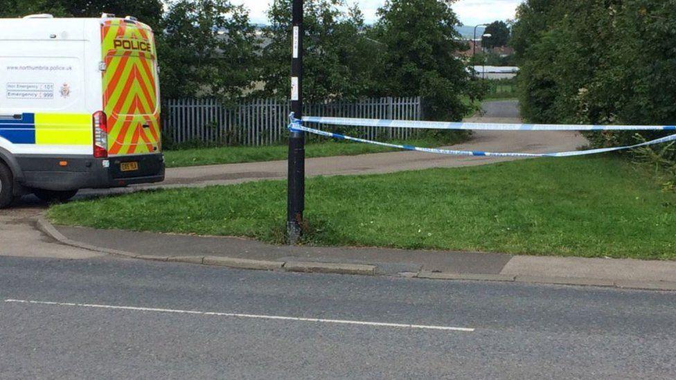 Police at Success Road