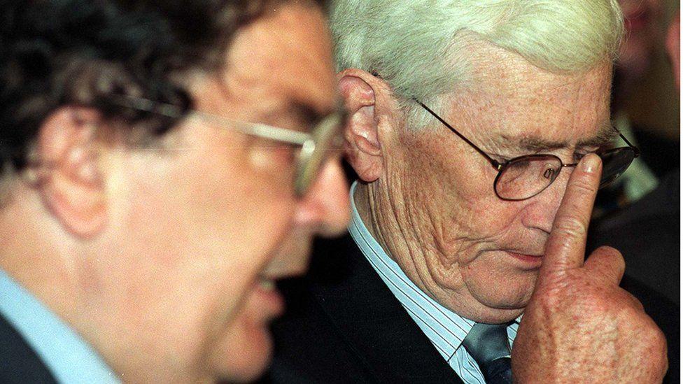 Seamus Mallon was John Hume's deputy leader in the SDLP