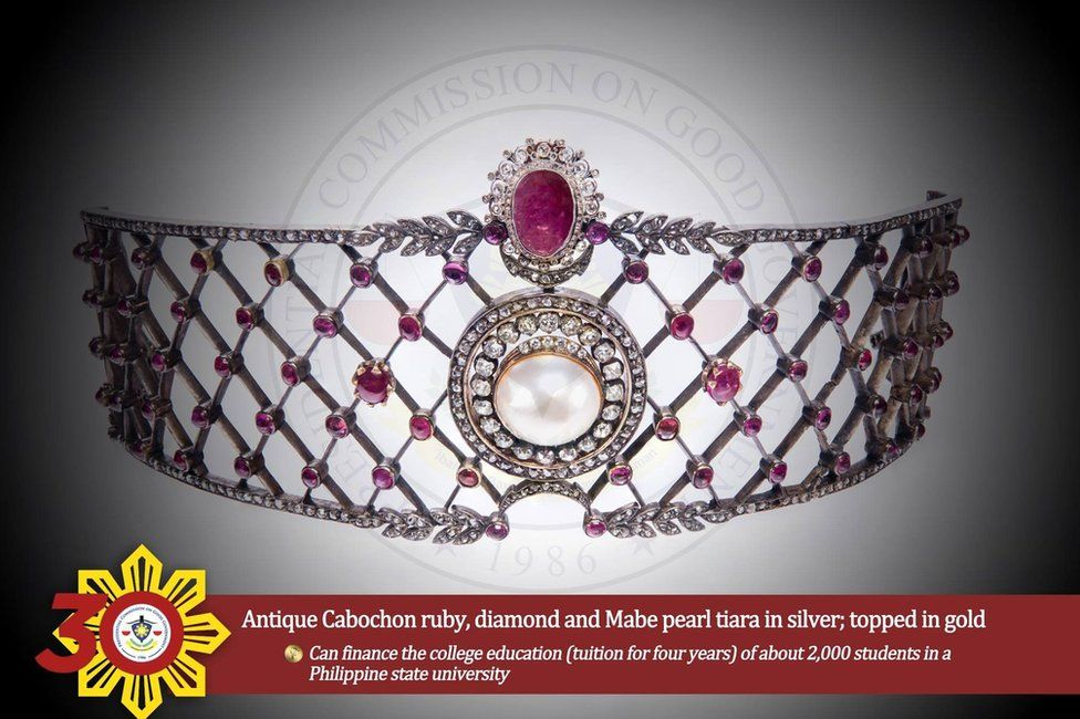 Image of a coronet from the Philippines Commission on Good Government