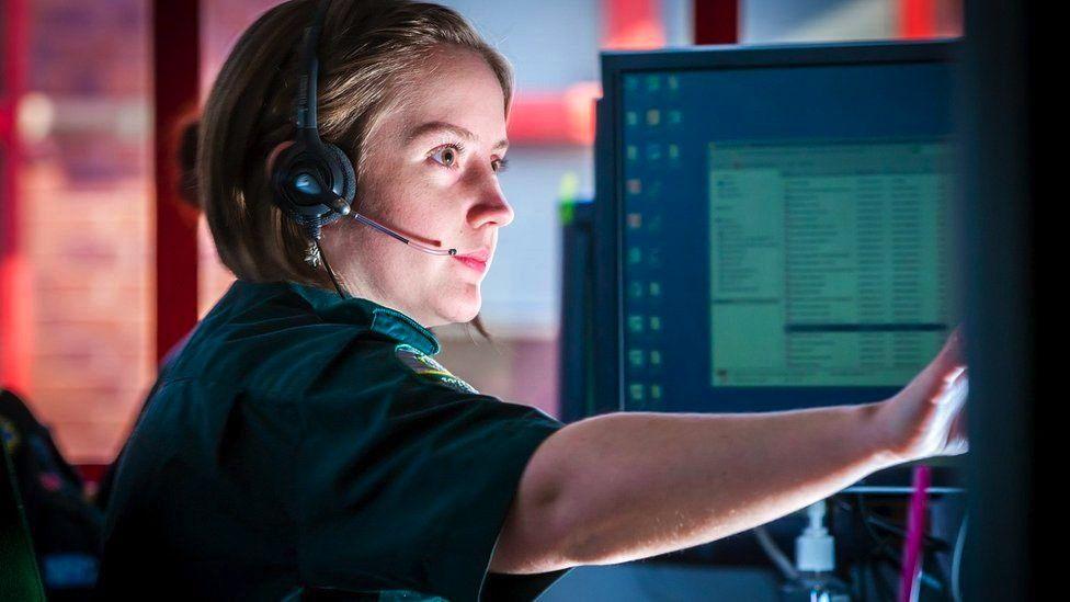 Call handler at SWAS