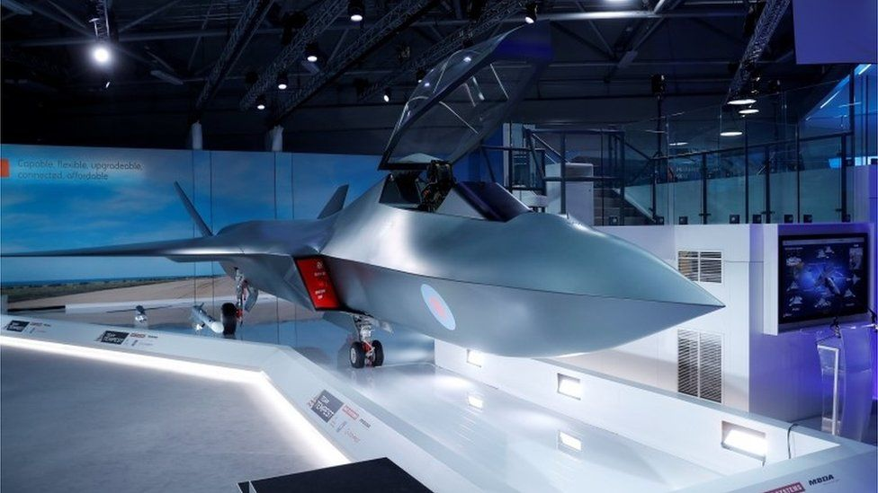 Tempest fighter jet
