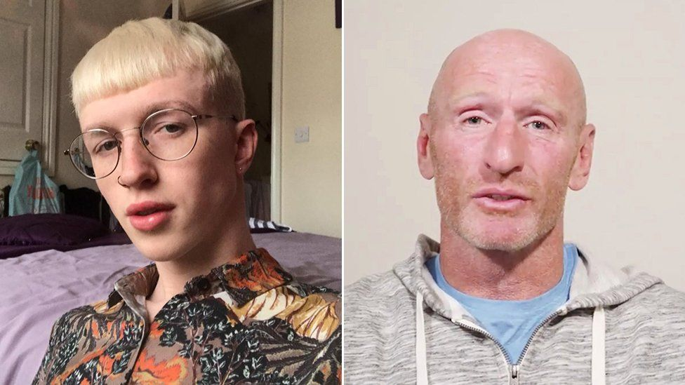 Split picture of George Westwood and Gareth Thomas