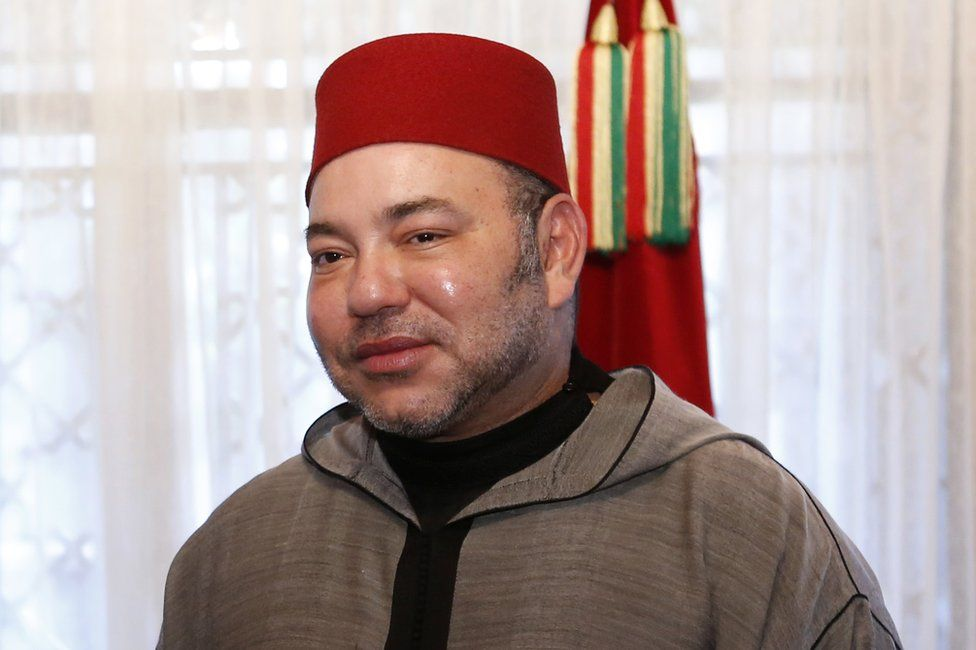 The King of Morocco, Mohammed VI, in Casablanca, 20 June