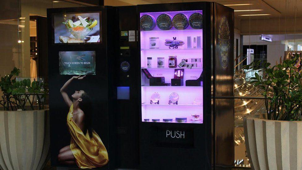 máquina de Beverly Hills Caviar