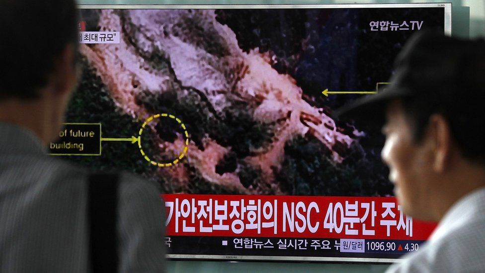 South Korea Reacts To North Korea's Possible Nuclear Test