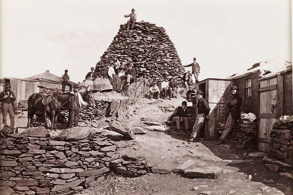 Copa'r Wyddfa, tua 1880