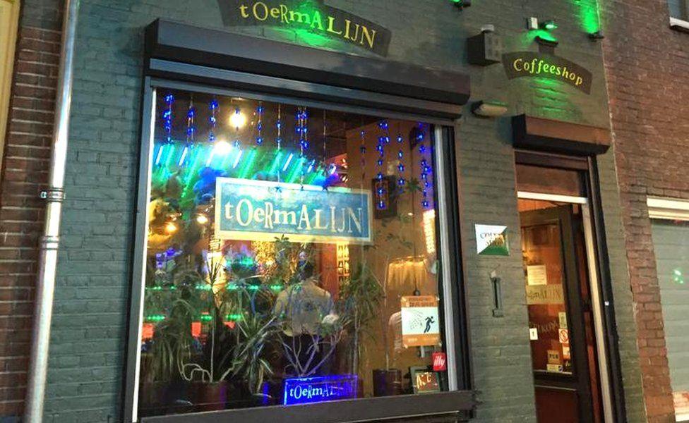 The Toermalijn coffee shop in Tilburg, The Netherlands