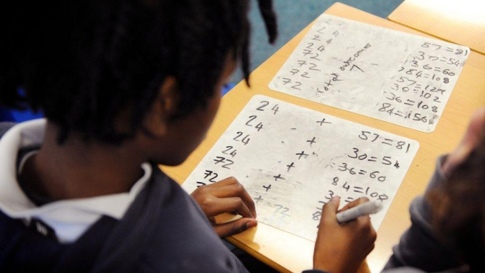 primary school pupil maths