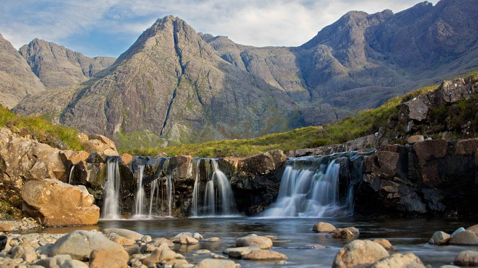 Fairy Pools on the Isle of Skye
