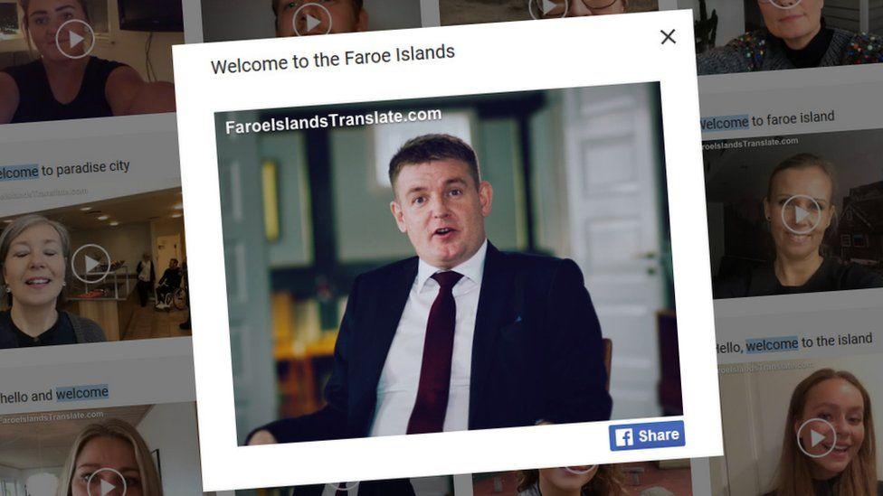 Prime Minister Aksel Vilhelmsson Johannesen on Faroe Islands Translate