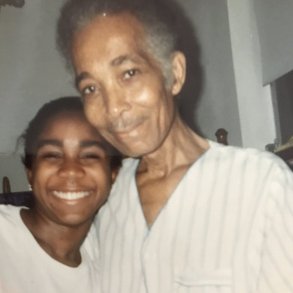 Judith and her dad Audley
