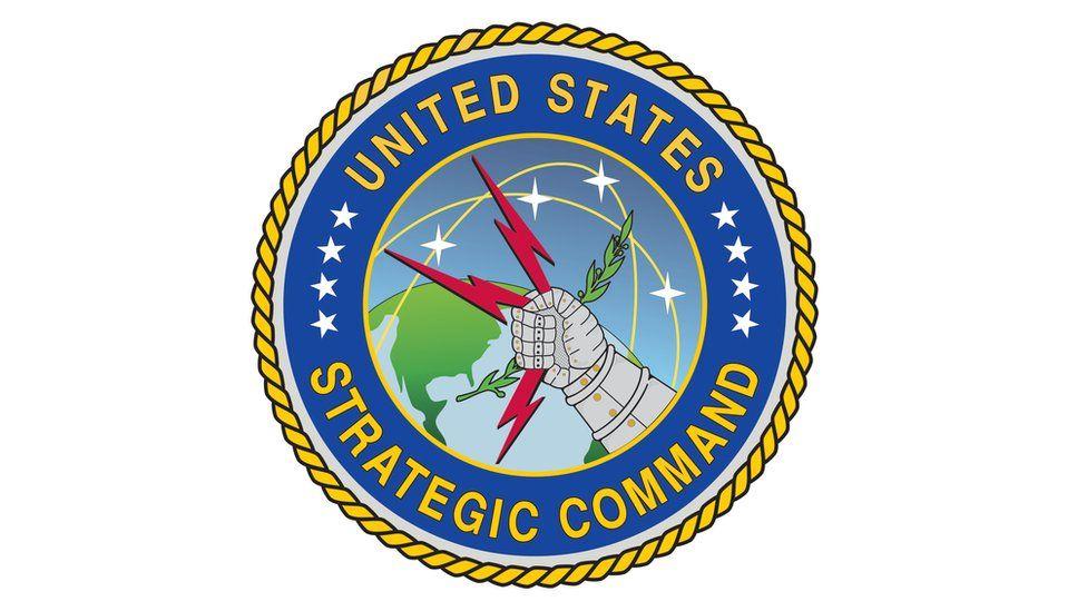 Seal / insignia / logo for the US Strategic Command