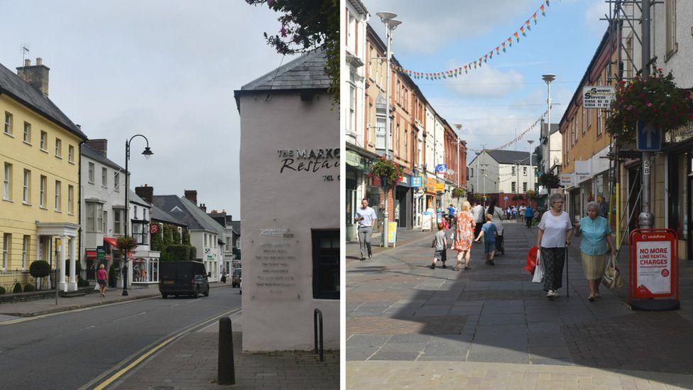 Cowbridge and Bridgend