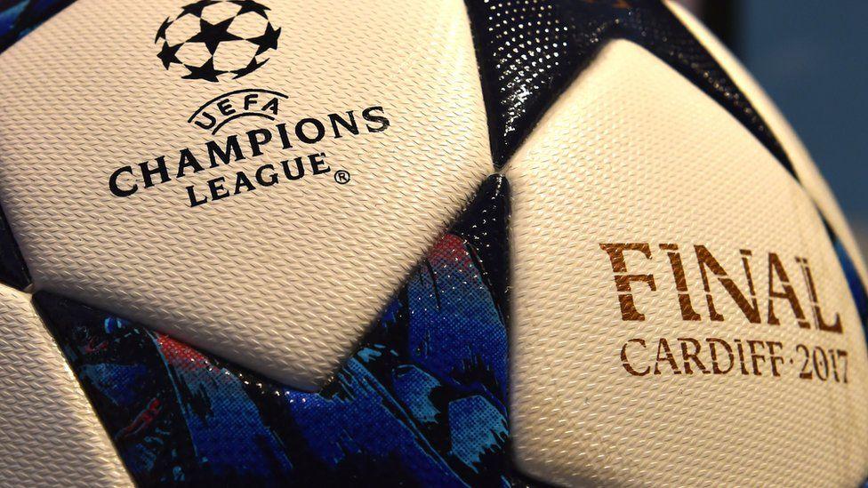 A 2017 Champions League final ball