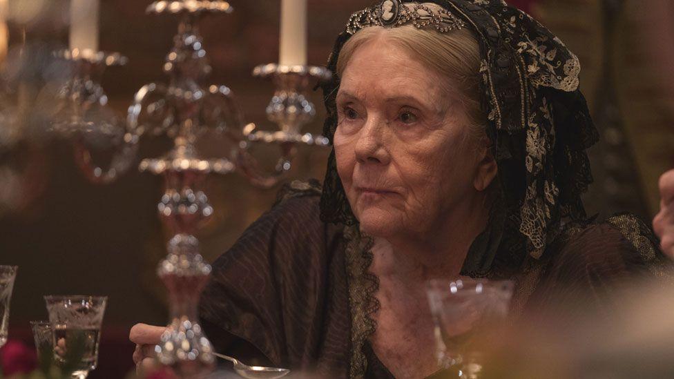 Dame Diana Rigg in Victoria
