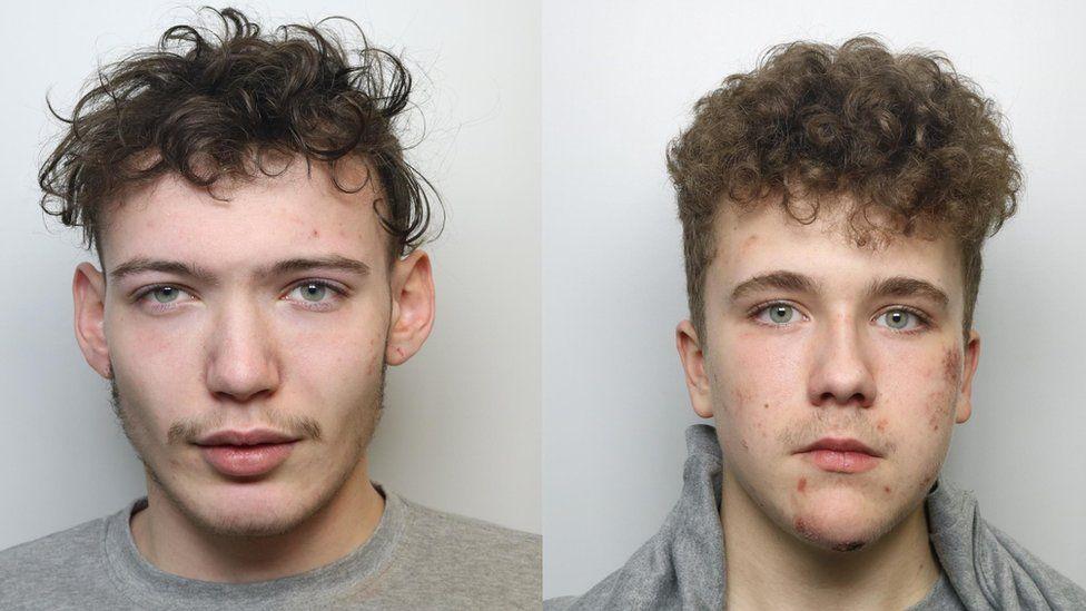 Kiyran Earnshaw (left) and Luke Gaukroger (right)