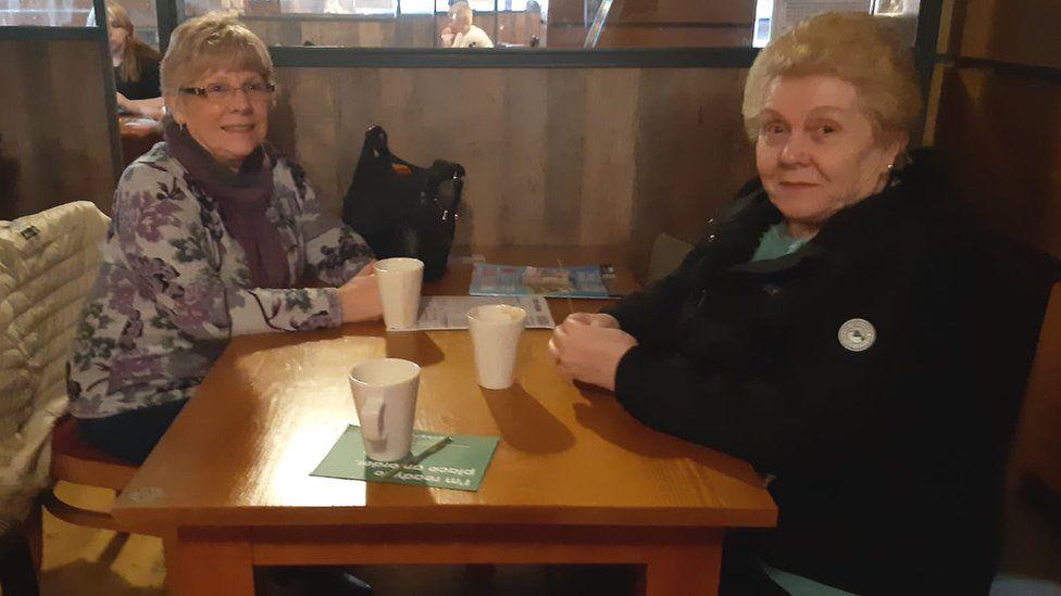 Eileen Dulson and Brenda Milner