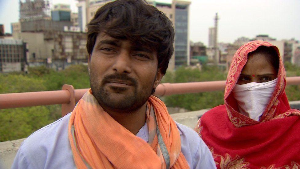 Neeraj Kumar with wife