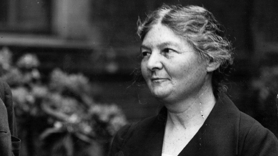 circa 1929: Margaret Bondfield, the first woman cabinet minister,