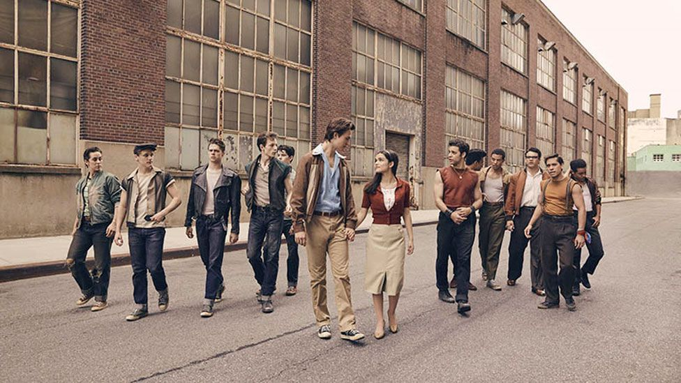 The cast of West Side Story