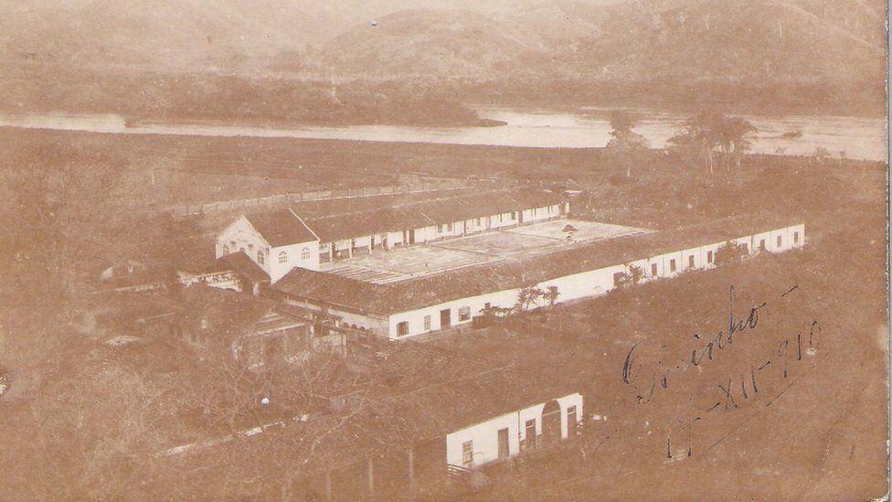 Imagem mostra uma das fazendas do Barão de Guaraciaba
