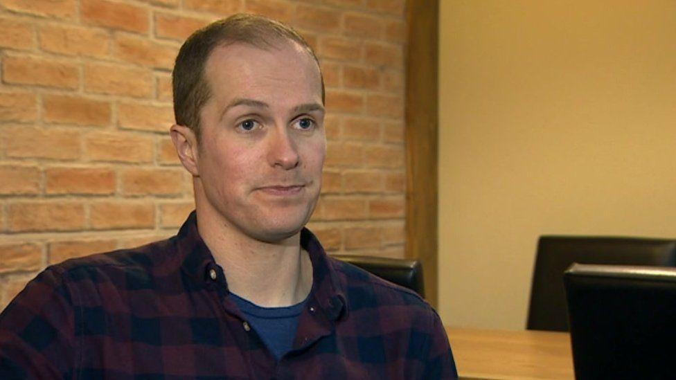 Rob Barker, of Drug Aid Cymru