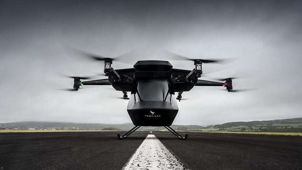 Vertical Aerospace aircraft