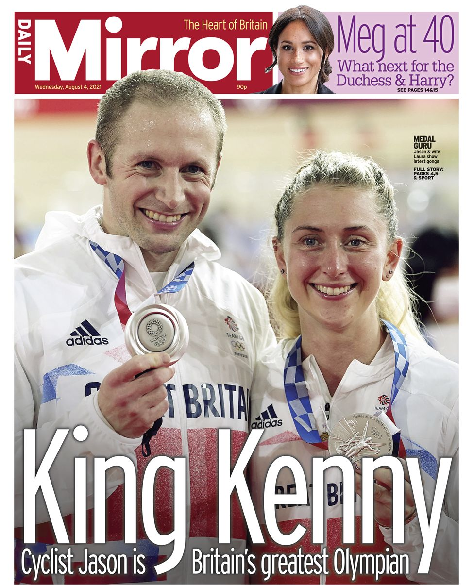 Daily Mirror - 04/08/21