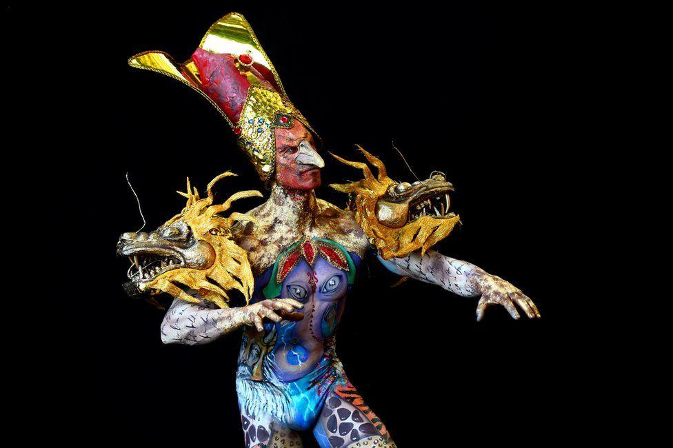 Dünya Vücut Boyama Festivali'nden fotoğraflar
