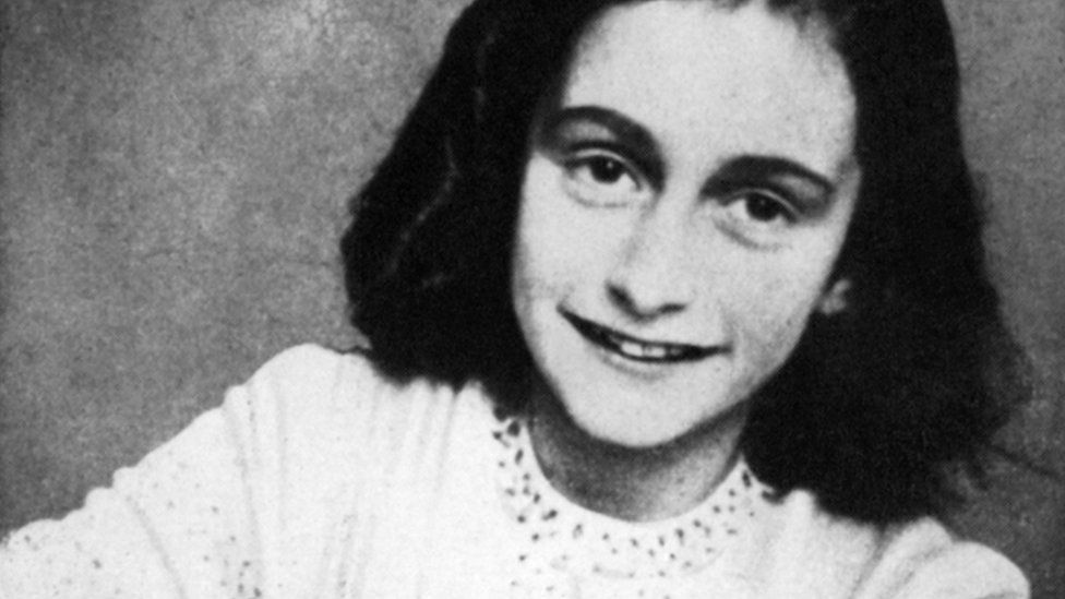 A portrait of Anne Frank
