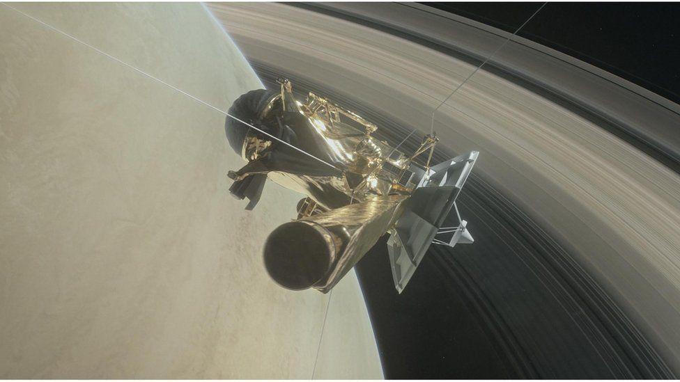 Por que os sons gravados pela sonda Cassini entre os anéis de Saturno deixaram os cientistas perplexos