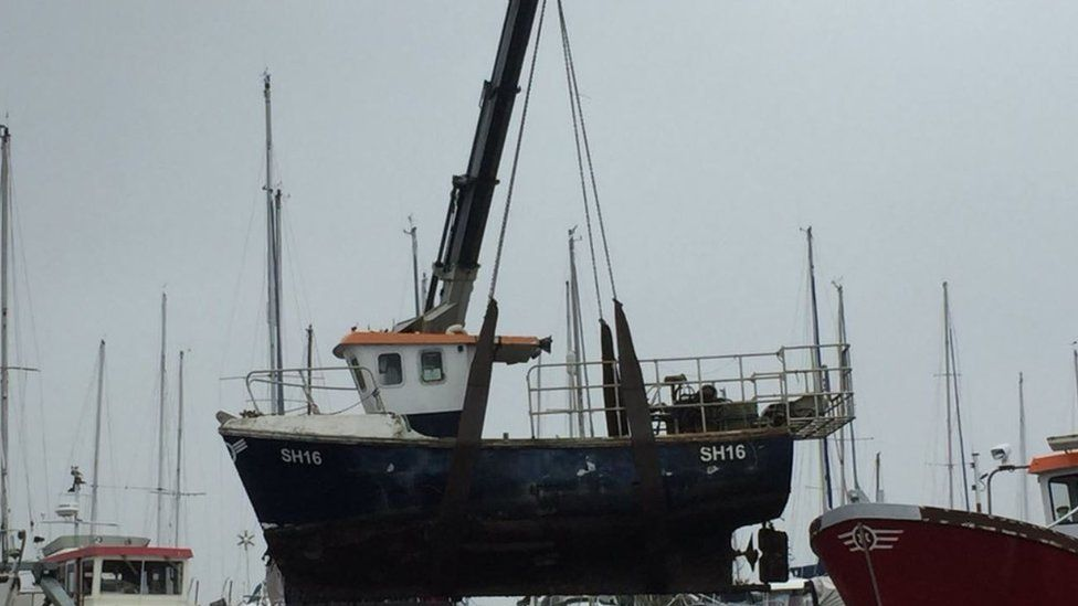 The Lainey fishing vessel