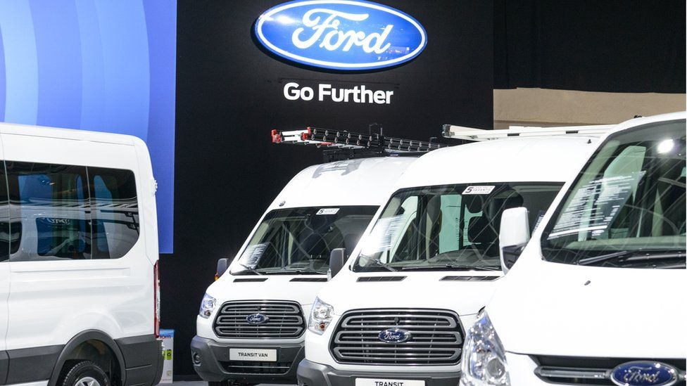 Ford and VW agree alliance to build vans and pickups - BBC News