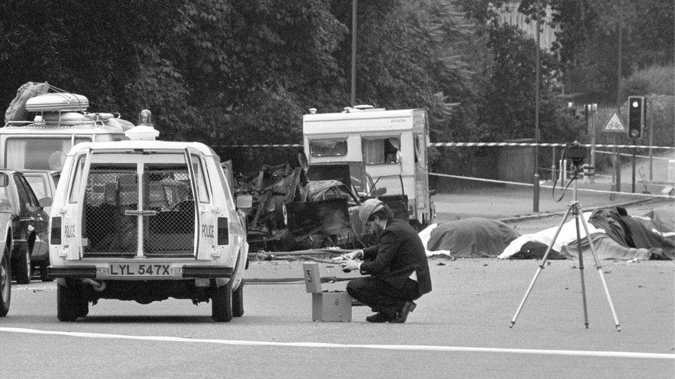 Scene of the 1982 attack