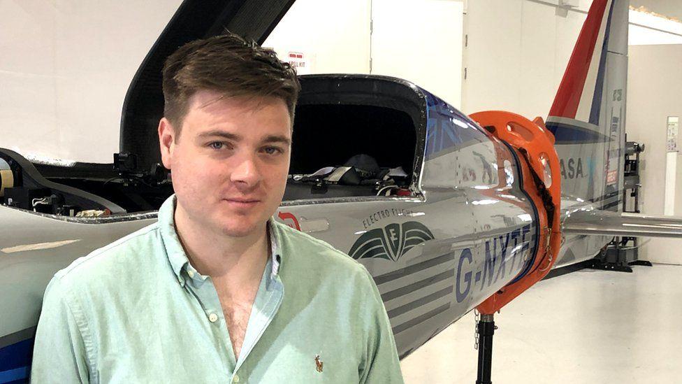 Stjohn Youngman, managing director Electro Flight