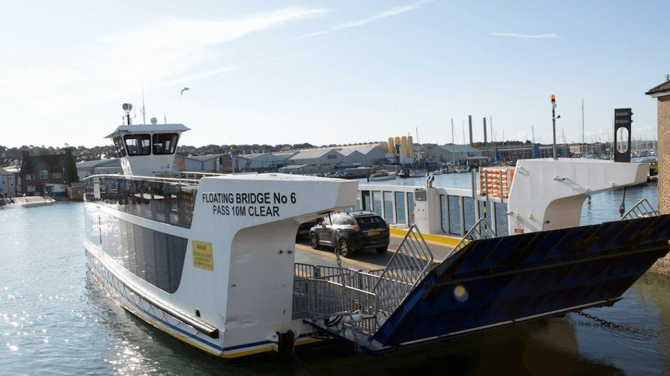 Cowes Floating Bridge