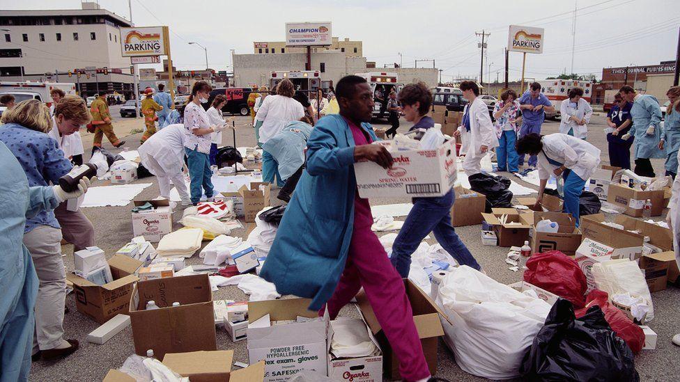 Oklahoma City Bombing The Day Domestic Terror Shook America Bbc News