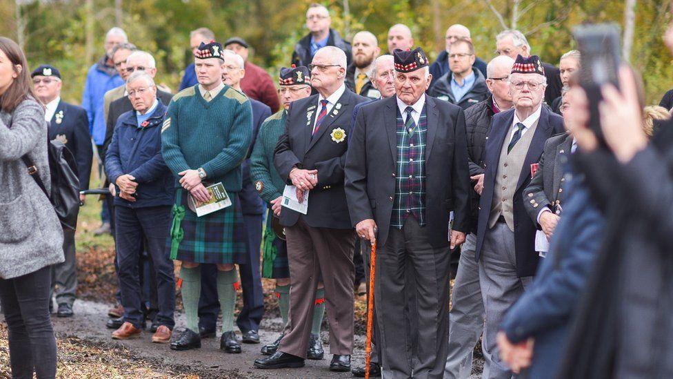 Robert Shankland VC Commemoration