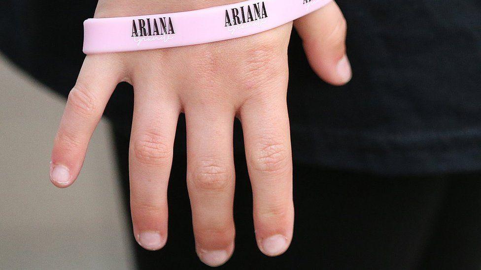 Ariana Grande wristband